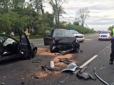 5 injured in crash that closed Route 70 for hours - nj com