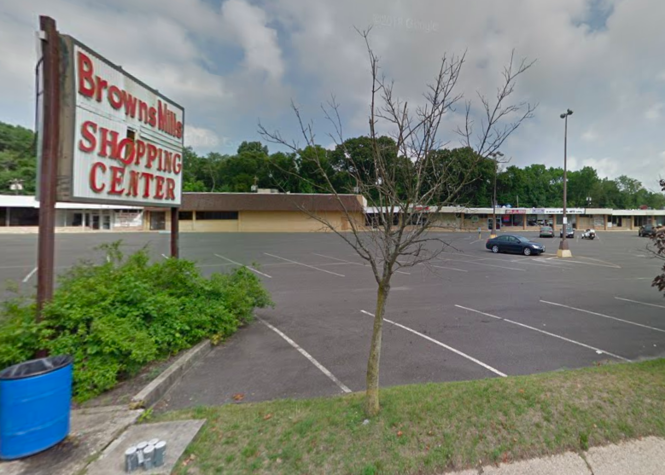 The Browns Mills Shopping Center may soon be acquired by the township through eminent domain.