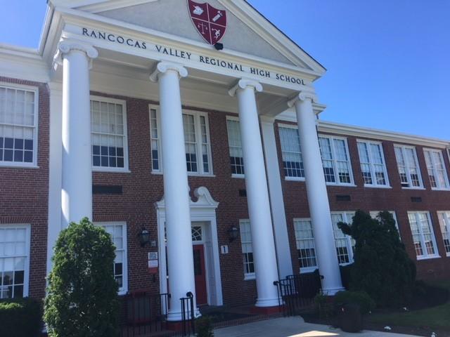 Rancocas Valley Regional High School in Mount Holly.