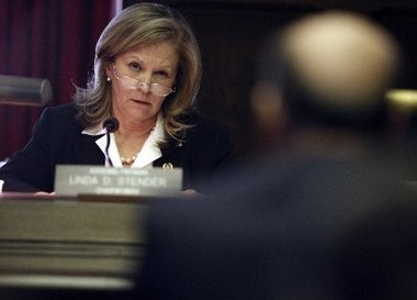 Assemblywoman Linda Stender (D-Union) is shown in this file photo. Stender will introduce legislation to ban violent video games in public places.