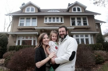 James and Samantha Cordon, their two-year-old daughter Madelyn and their dog moved to Glen Ridge from Brooklyn, following a trend in Brooklyn folks moving to Jersey.