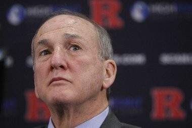 Rutgers University President Robert Barchi is under fire for initially signing off on a suspension of basketball coach Mike Rice.