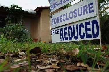 Foreclosures in New Jersey continue to rise.