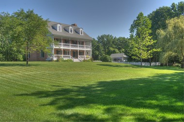 This house in the Cream Ridge Section of Upper Freehold will go on auction June 12.