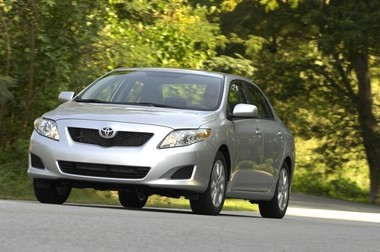 The 2010 model of the Toyota Corolla, seen here, made the top-10 most stolen cars in New Jersey last year.