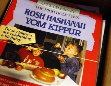 Some of Behrman House's 600 book titles include guides to the Jewish holidays for children, like this one to mark Yom Kippur, which concluded Saturday night.
