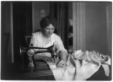 At one time, Singer sold more sewing machines than all of its competitors combined. photo courtesy of the LIbrary of Congress
