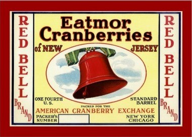 The Eatmor growers exchange sold 65 percent of the cranberry crops from New Jersey. Courtesy of the New Jersey State Archive