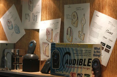 The first internet-based spoken audio system offered by Audible.