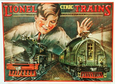 Pre-World War II Lionel train sets range in value from $5,000 to $50,000. Courtesy of the Lionel Corp.