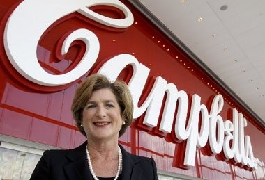 Campbell's Soup Co. chief executive Denise Morrison is one of just four CEOs of the 111 largest publicly-held companies based in New Jersey, according to a report released today.