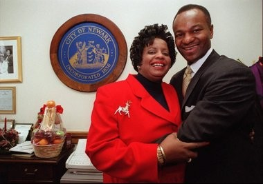Gayle Chaneyfield-Jenkins and her husband Kevin Jenkins in 2006.