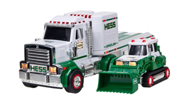 Hess said it will continue selling its popular toy truck this coming holiday season at gas stations and online. After that, the company will sell its toy truck only online. Above, the 2013 Hess truck.