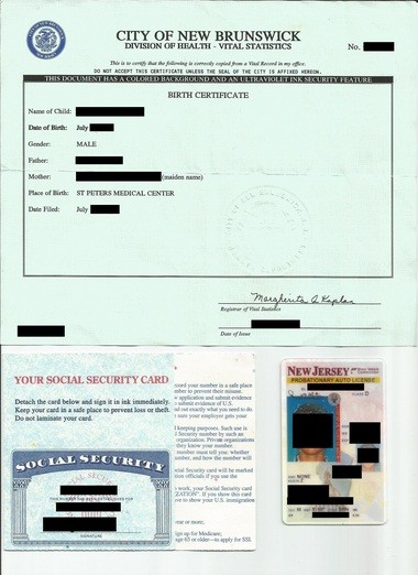 One of hundreds of Breakwater Beach employee documents that could be found unprotected on the company's web site. NJ Advance Media has redacted the document to protect the employee.
