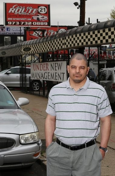 Miguel Claussell says Cars on Route 21 hasn't paid off the loan on his trade-in.