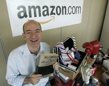 Amazon.com Chief Executive Jeff Bezos and his stepfather are fans of Cory Booker.