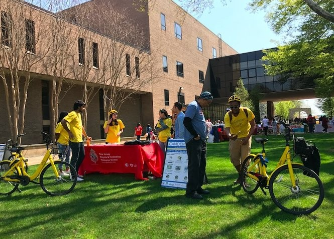 An ofo information table at Rutgers University-Camden seen on Rutgers Day. (Photo courtesy ofo)