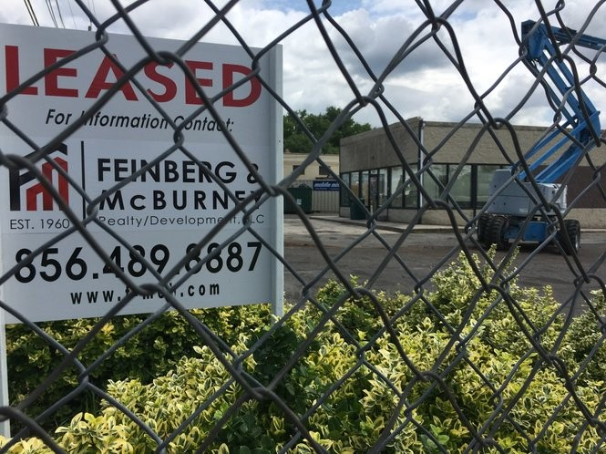 This location on Route 130 (Cresent Boulevard) near Marlton Pike in Pennsauken will be the location of a new Checkers restaurant.