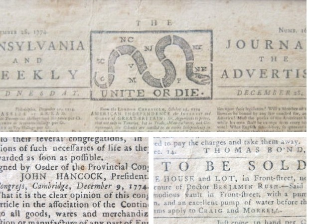 "An appraiser said a rare copy of a colonial-era newspaper found in a Goodwill donation bin in Woodbury was ""unquestionable authentic."""