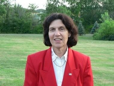 East Windsor Mayor Janice Mironov in a file photo.