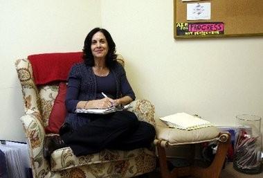 A file photo of Jill Shaffer in her Pennington office.