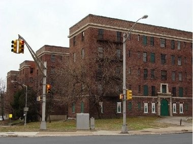 Trenton city council weighs a redevelopment proposal from Thomas Edison State College to raze the city-owned Glen Cairn Arms apartment complex and build a $16.7 million nursing building in its stead.
