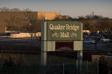 b09b91807 Exterior of Quaker Bridge Mall, on Rt 1 in Lawrence, New Jersey where  renovations