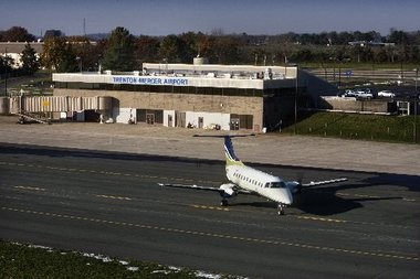A file photo of the Trenton-Mercer Airport in Ewing, NJ