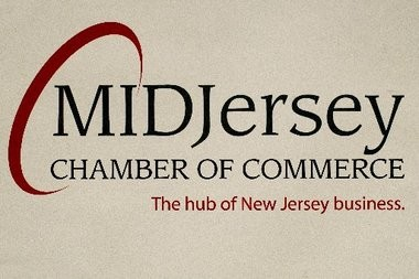 The logo of the MidJersey Chamber of Commerce