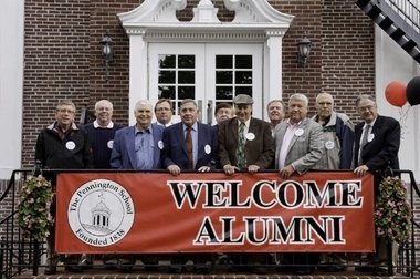 The Pennington School Class of 1963 gathered for its 50th Reunion.
