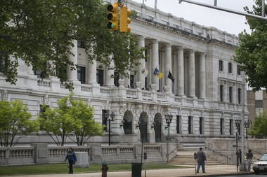 File photo of Trenton City Hall on E. State St.
