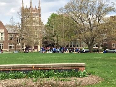 Princeton High School in a file photo.