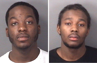 Robert S. Bartley, left, and Raheem Currie, right (file photo)