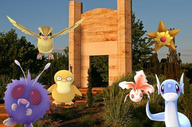 Grounds for Sculpture in Hamilton is offering special Pokemon Go tours (Photo, Grounds for Sculpture)