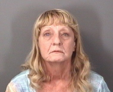 Sharon Harry, 61, accused of stabbing a man who declined sex. September 20, 2016. (Photo, Mercer County Prosecutor's Office)