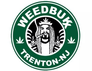 "The new logo for Weedbukx, the eatery in Trenton owned by Ed ""NJ Weedman"" Forchion."