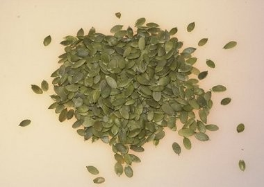 Don't forget to save your pumpkin seeds. Use them to make brittle, mole sauces and a crunchy snack.