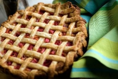 Experiment with making or eating pie with a lattice crust on Pi Day.