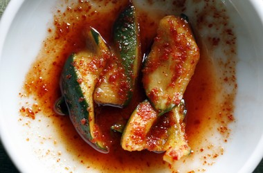 Fermented foods such as the fiery Korean condiment kimchi are popular among Paleo eaters for helping keep one's digestive system healthy.