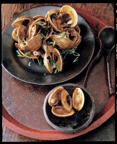 "Clams with Black Bean sauce from From ""Mastering the Art of Chinese Cooking"" by Montclair author Eileen Yin-Fei Lo."