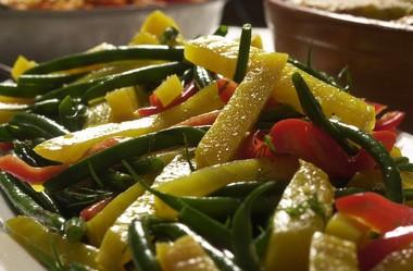 Golden Beet and Green Bean Salad