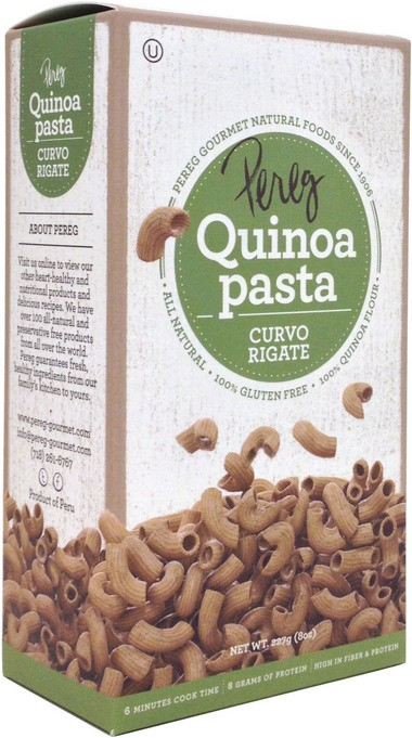 Pasta, cereals and many more products made from quinoa are now readily available.