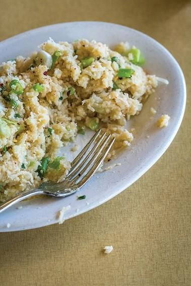 """Cauliflower """"risotto."""" (Noah Fecks)"""