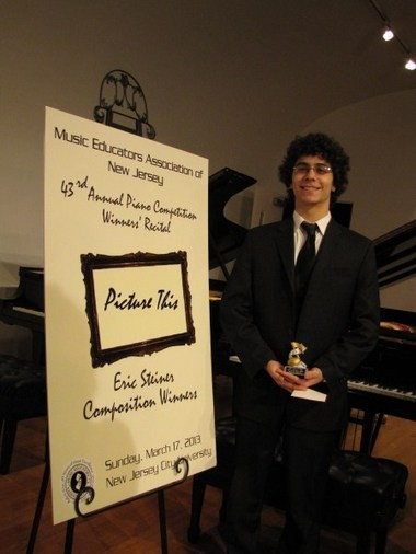 Cranford High School freshman wins prestigious piano composition