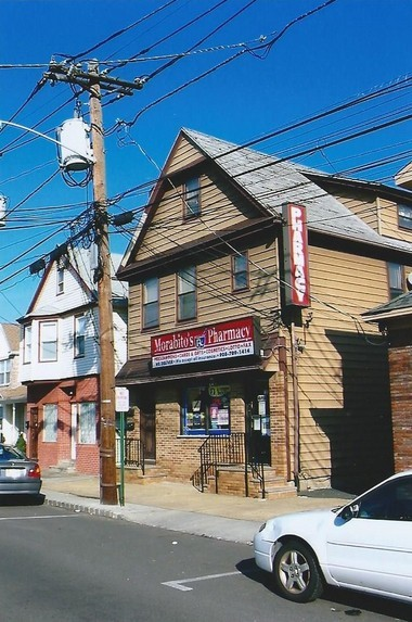 Gene Coppola's parents operated a produce store in this building that now houses Morabito's Pharmacy.