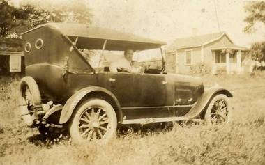 Amadeo Coppola used a Model T Ford pickup truck such as this one to make deliveries.