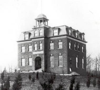 The KKK took over Upsala College's main building in the 1920's.