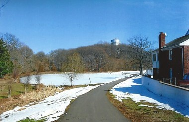 Pictured (at left) is Shallcross Pond during the winter of 2014. (Photo by Walter Boright)