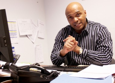 PathStone Adult Education Instructor, Adrian McGriff, handles the Youth Education and Training program.