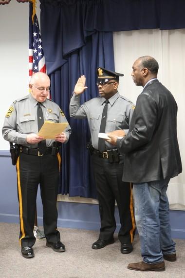 Cumberland County Sheriff's Office swears in new lieutenant